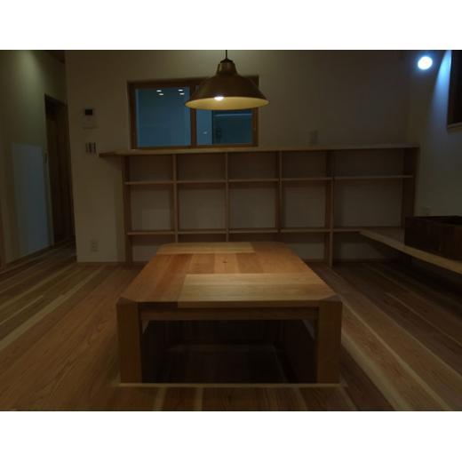 original 炉付きテーブル