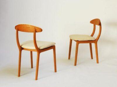 宮崎椅子製作所 kaki no isu  背無垢 / 背張り ※実施日未定ですが価格改定いたします
