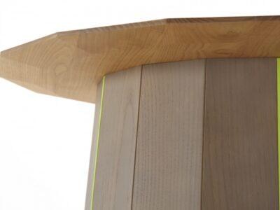 karimoku new standard  Collar Wood ローテーブル (yellow)