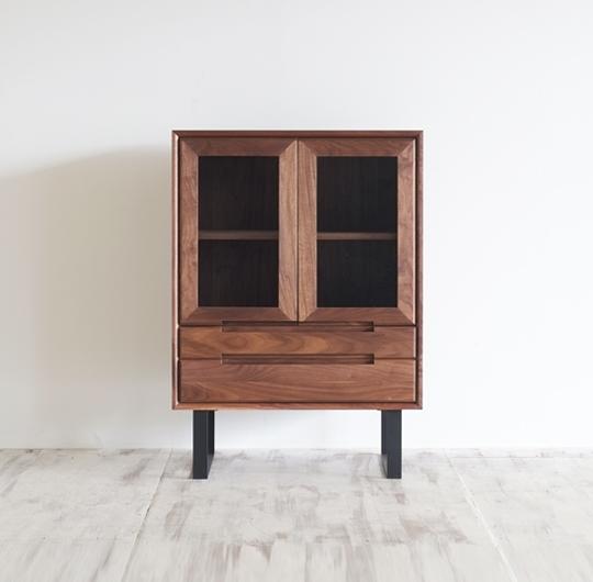 松井木工 Thyme cabinet Wood or Steel leg